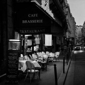 Empty Cafe. Payroll Protection Program.